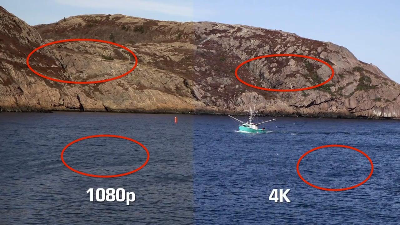 Kết quả hình ảnh cho 1080p vs. 4K Gaming