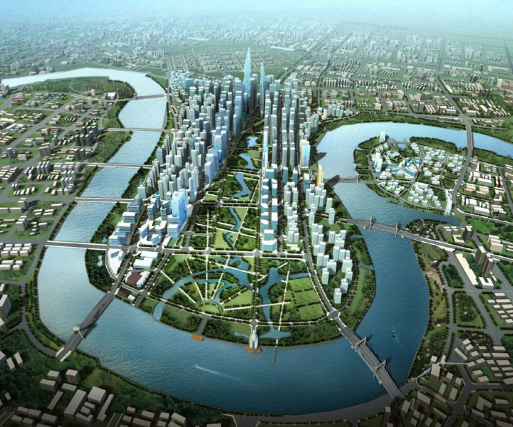 Tianjin Eco-City in China