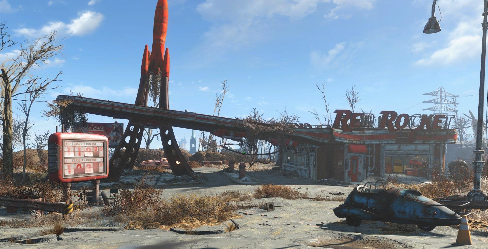 Red Rocket Station