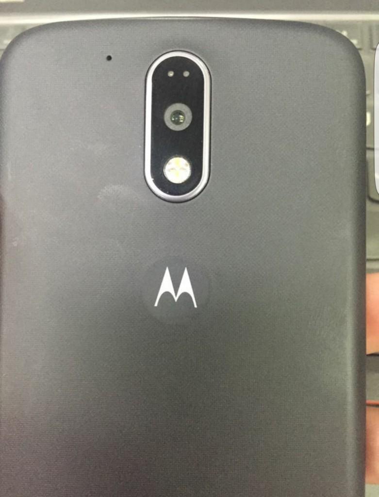 Moto G4 back cover camera