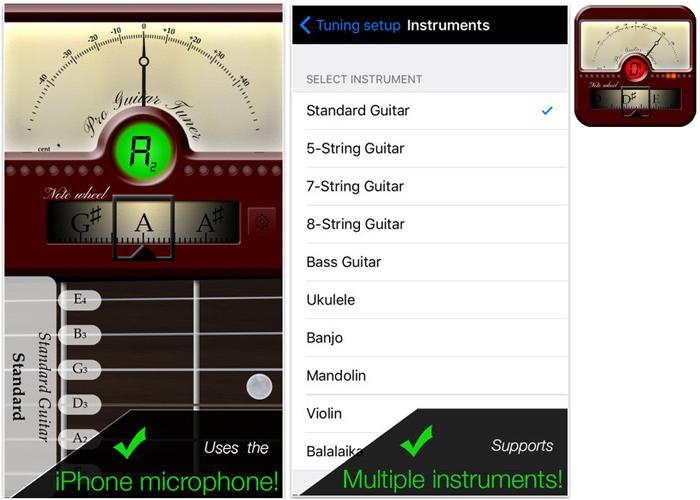 top ten guitar tuner apps. Black Bedroom Furniture Sets. Home Design Ideas