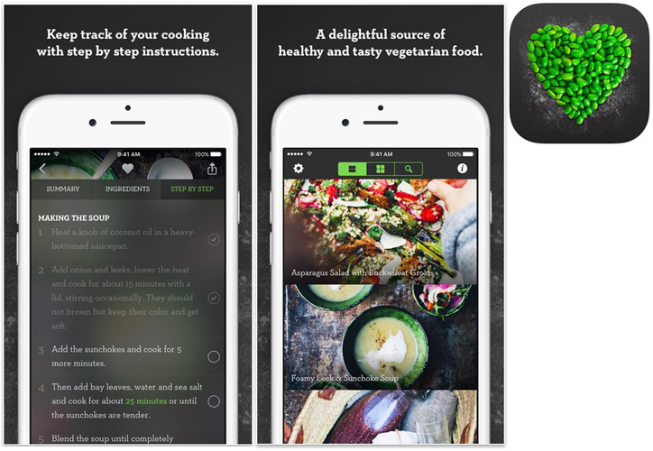 Amazing Green Kitchen. This Is One Of The Most Attractive Healthy Vegetarian  Recipes Apps In The Market! However, Itu0027s Not Just About The Gorgeous  Images; ... Great Pictures