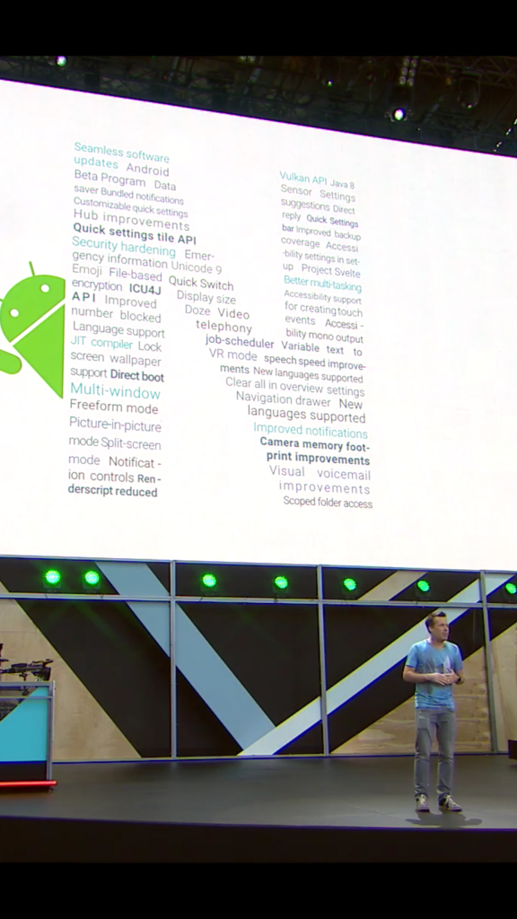 Android Nougat features