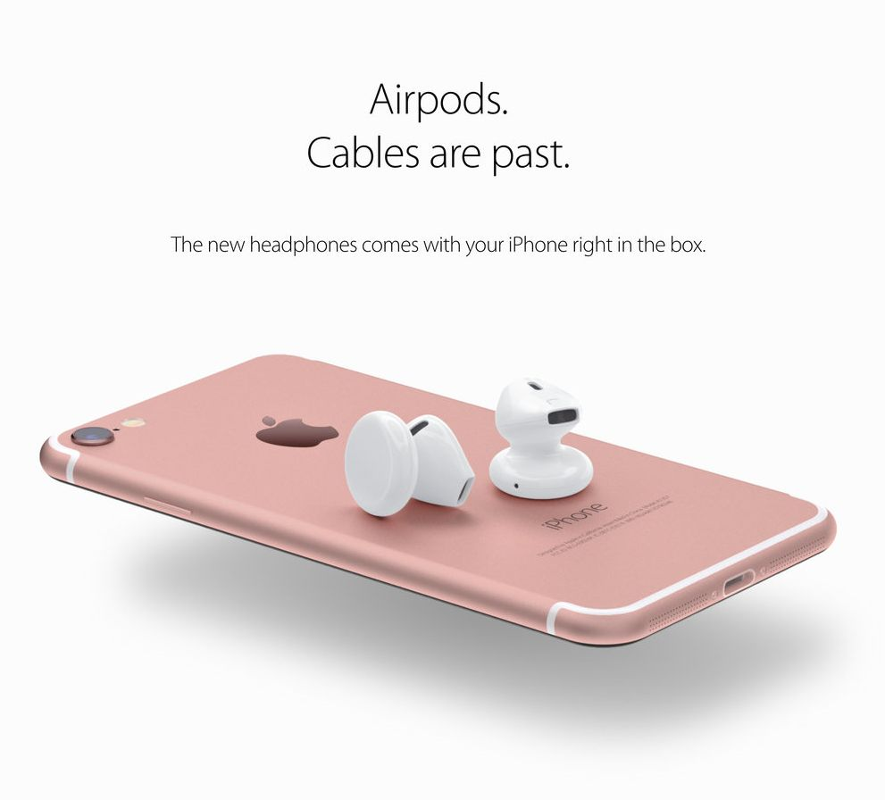 IPhone 7 Headphones AirPods Spotted
