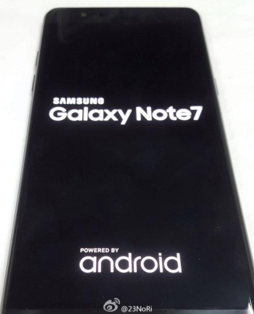 Galaxy Note 7 iris scanner 1