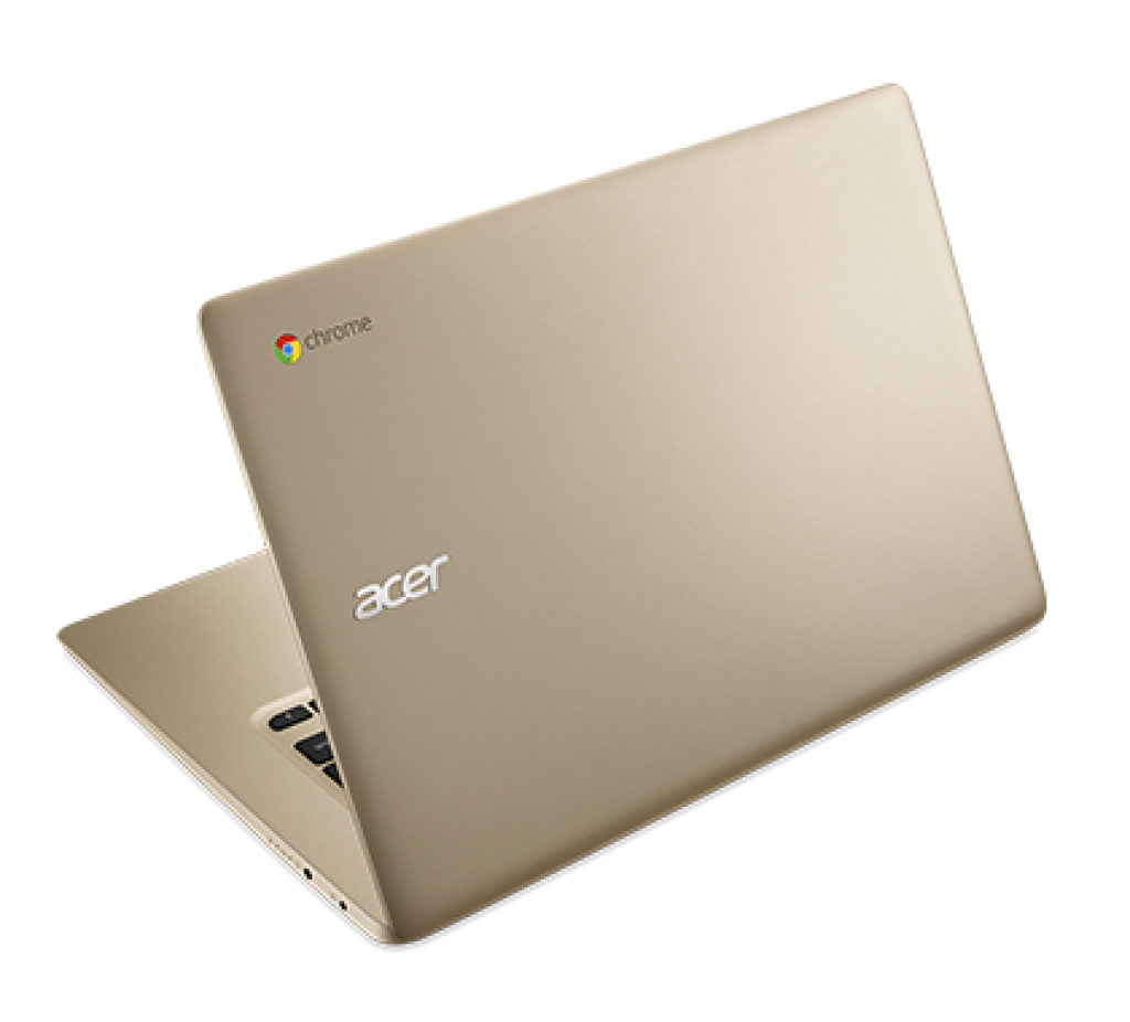 Acer Chromebook 14 gold top