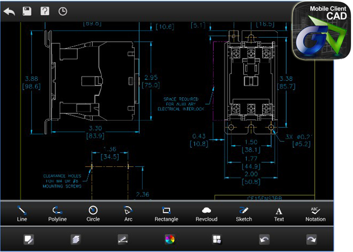 Best cad apps 2016 aptgadget developed by suzhou gstarsoft co gstarcad mc or commonly known as cad viewer is a highly rated cad app on googles play store malvernweather Images