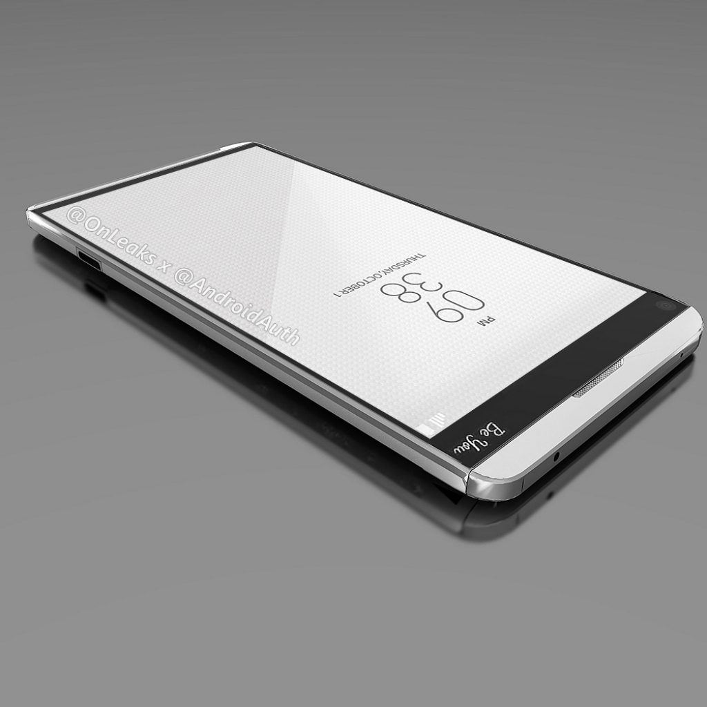 LG V20 render front display