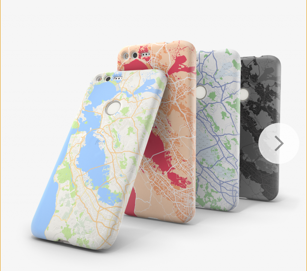 Pixel phone cases Live Cases locations