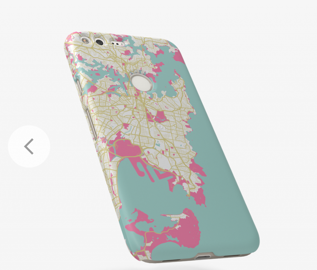 Pixel phone cases Live Cases maps location