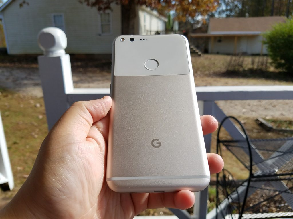 Pixel XL phone design