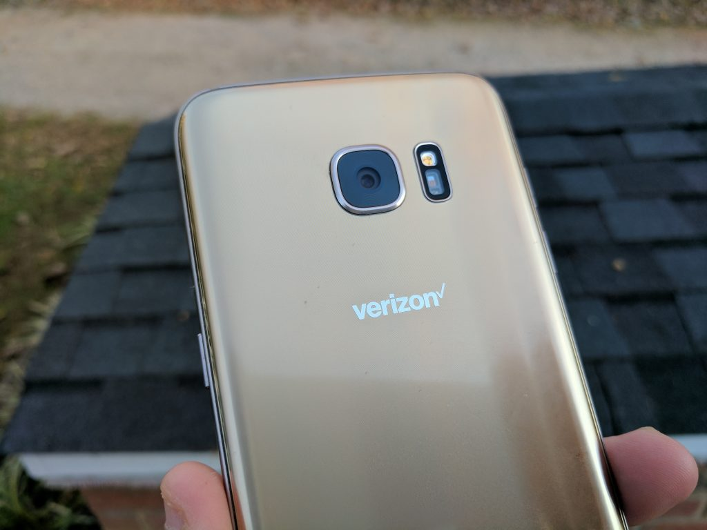 galaxy s7 edge camera left