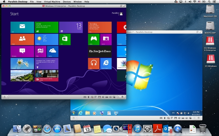 Parallels desktop 10 for mac features os x yosemite integration.