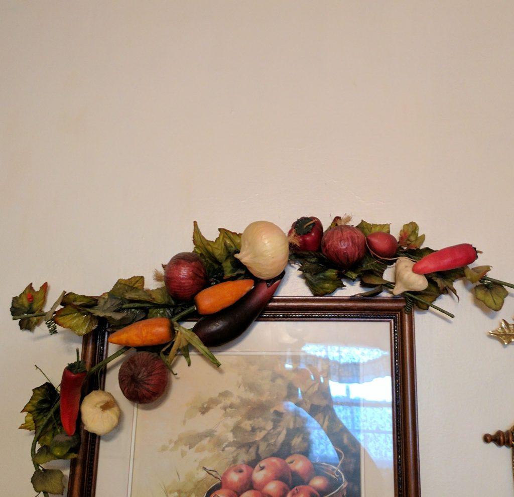 Google Pixel XL vegetable decoration
