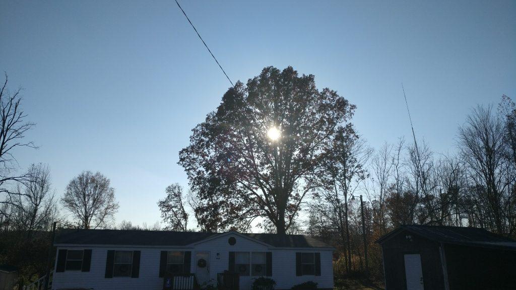 OnePlus 3 sky and sun