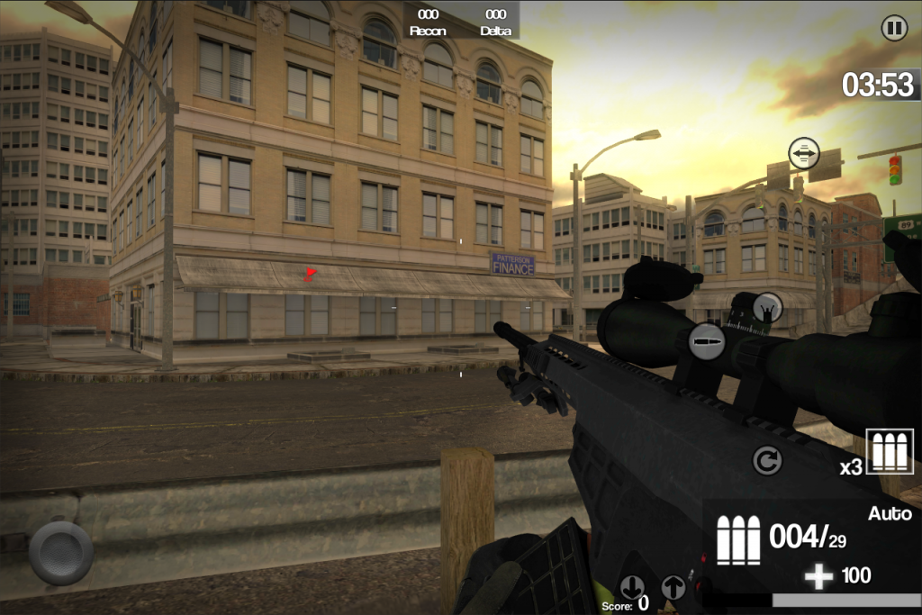 fps first person shooter