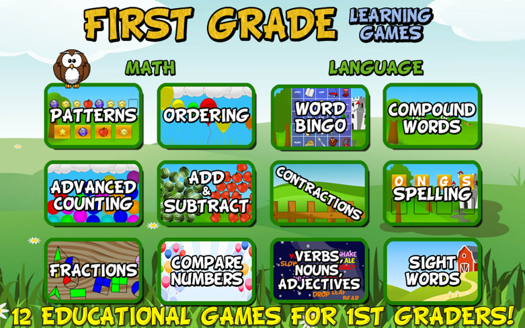 free learning apps for grade 1