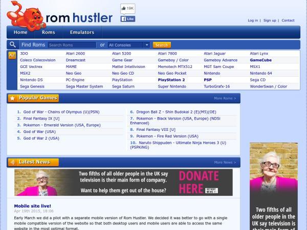 Rom hustler com