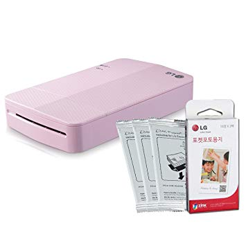 LG Mini Portable Mobile photo printer+30 Zink paper sheet