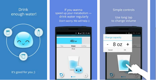 water drinking apps