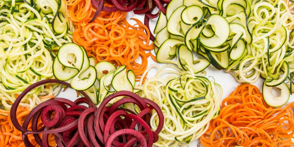 Best spiralizer and zoodle makers