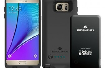 Galaxy Note 5 and Galaxy S6 edge Plus 3,500mAh ZeroLemon Battery Cases announced
