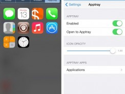 Apptray: Cydia Tweak to launch Apps from the Notification Center in iOS 7 and 8