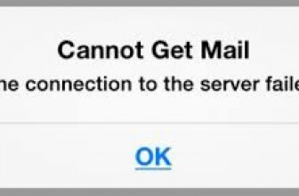 """How to fix """"Cannot Get Mail. The connection to the server failed"""" error"""