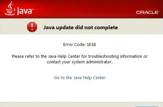 How to Fix Java Install- Did Not Complete Error 1618