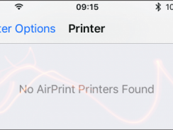 How to fix AirPrint not working after iOS update