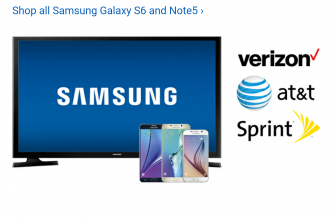 Best Buy gives free HDTV with Galaxy S6 or Note 5 on lease or monthly installment plan