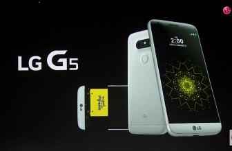 Take a screenshot on the LG G5