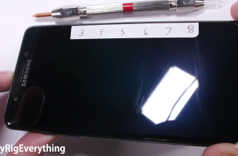 Galaxy Note 7 scratch test revisited