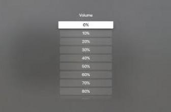 How to adjust volume on Apple TV