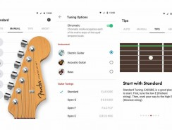 Fender Tune – Guitar Tuner: The leading app for advanced technology and accuracy, now available for Android users