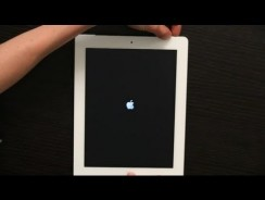 How to restart an iPad that won't turn on