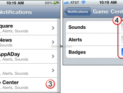 How to disable Game Center Notification in iOS