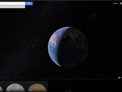 Google Earth now includes Mars & The Moon
