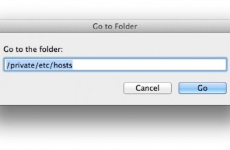 How to edit the Hosts File on Mac
