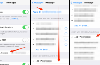 How to fix: iMessage sent from Email Address instead of phone number