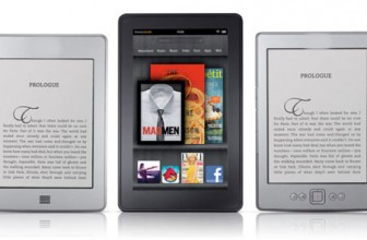What are the different types of Kindles?