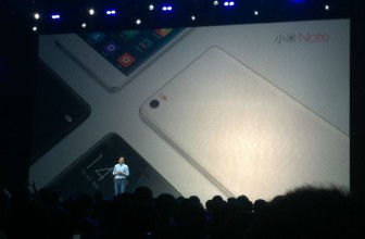 Xiaomi launches Mi Note – an iPhone 6 Plus rival