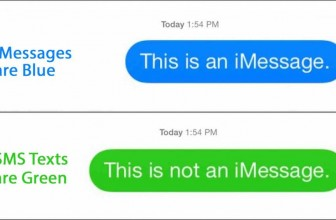 What is the difference between a text message and iMessage?