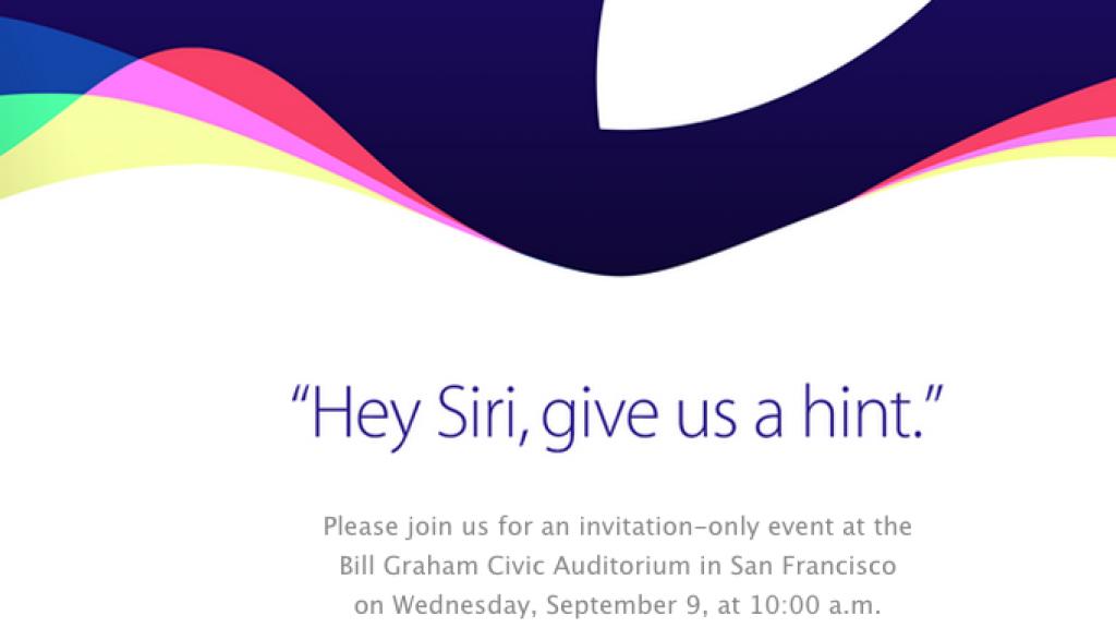 iPhone 6s, iPhone 6s Plus announcement