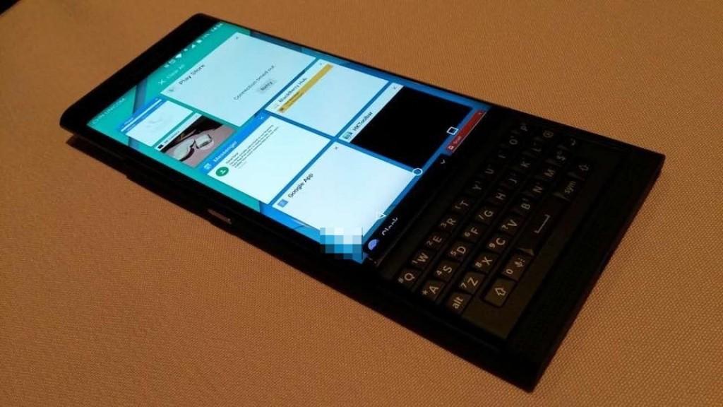 BlackBerry Venice task manager