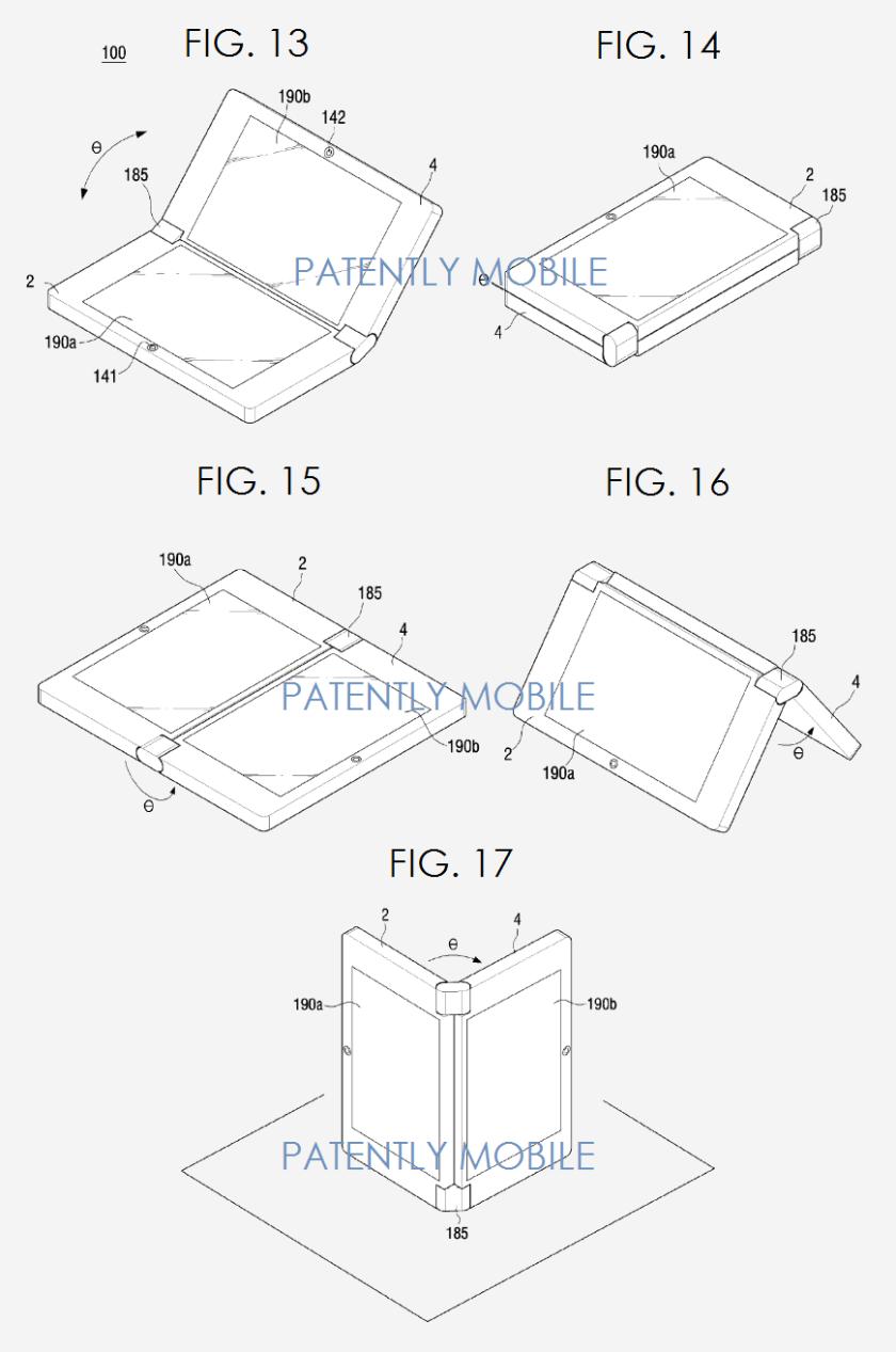 foldable smartphone patent