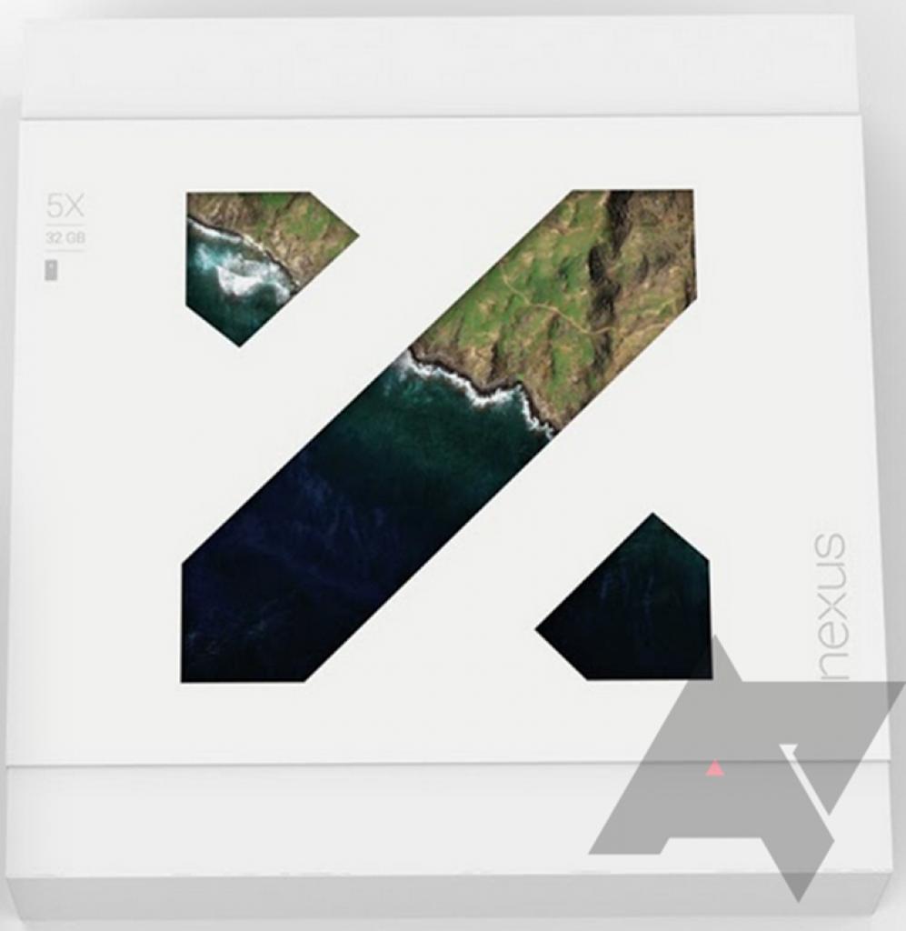 Nexus 5X retail box official