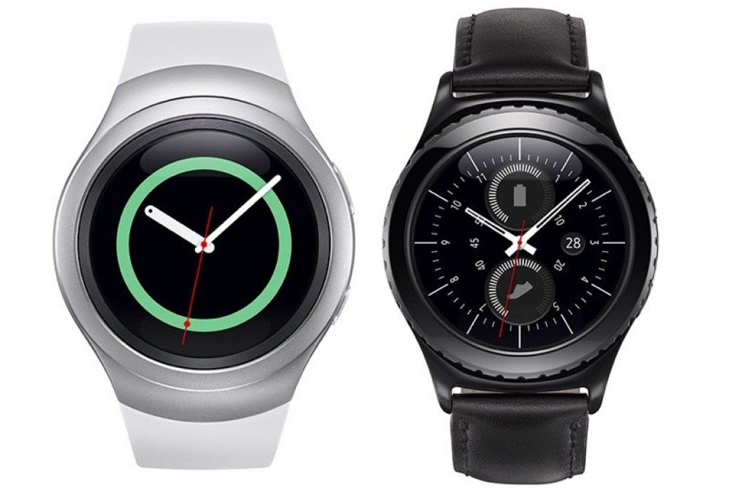 Gear S2 standard and classic smartwatches