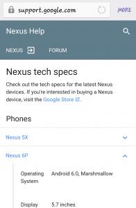 Nexus 6P carrier support 1