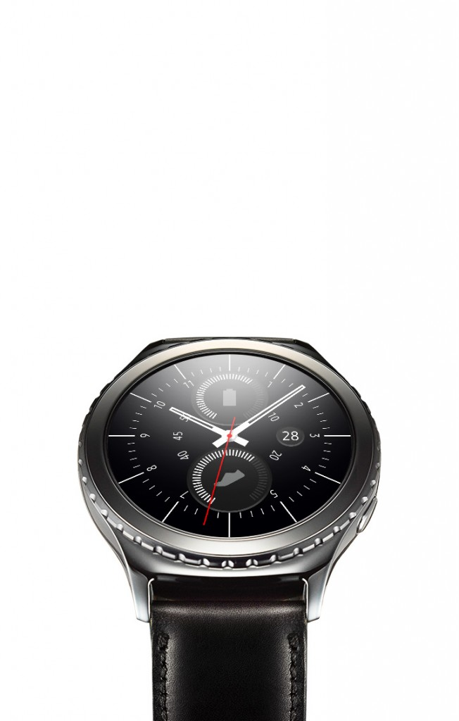 Gear S2 classic watch face